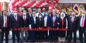 Yalova'da görkemli açılış.Yalova Sivaslılar Derneği açıldı