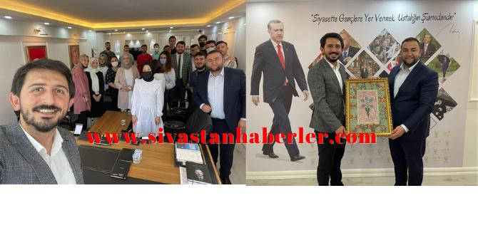 AK Parti Genel Merkez Gençlik Kolları Sivas'taydı