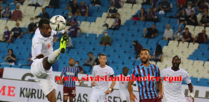 Trabzonspor 2-1 Demir Grup Sivasspor