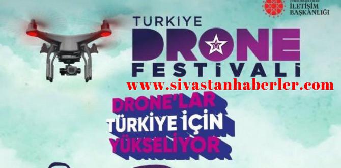 Türkiye Drone Festivali Başlıyor