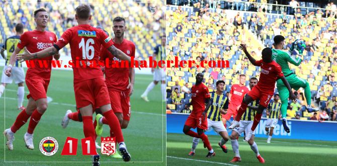 Fenerbahçe 1-1 Demir Grup Sivasspor