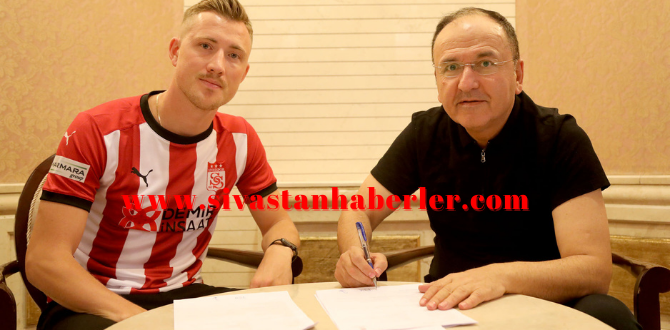 Fredrik Ulvestad Demir Grup Sivasspor'da