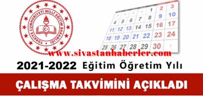 MEB 2021-2022 Eğitim Öğretim Yılı Çalışma Takvimini Açıkladı