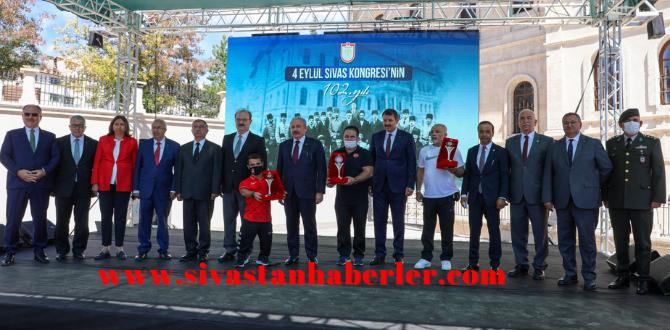 Sivas Kongresi'nin 102. yıl dönümü kutlandı
