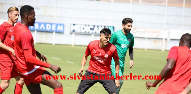 Sivasspor Fenerbahçe Maçına Hazırlanıyor